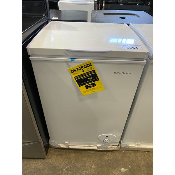 INSIGNIA 3.5CU FT CHEST FREEZER