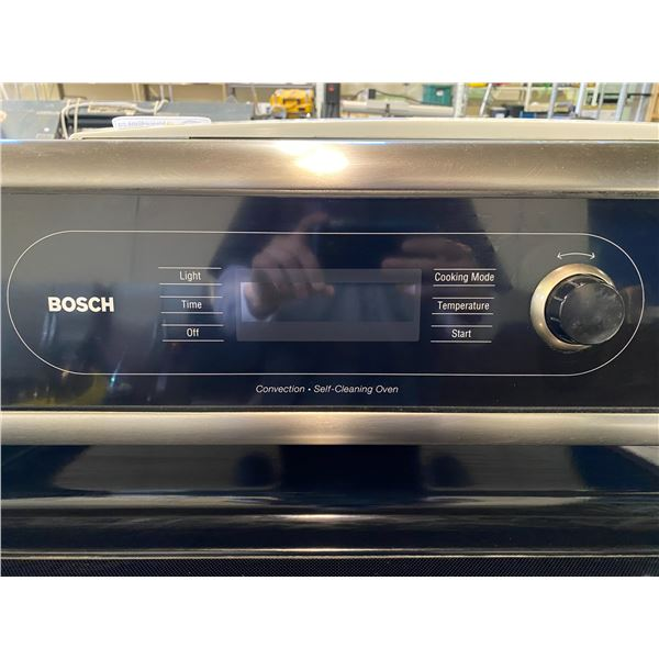 BOSCH INDUCTION STOVE WITH CONVECTION OVEN
