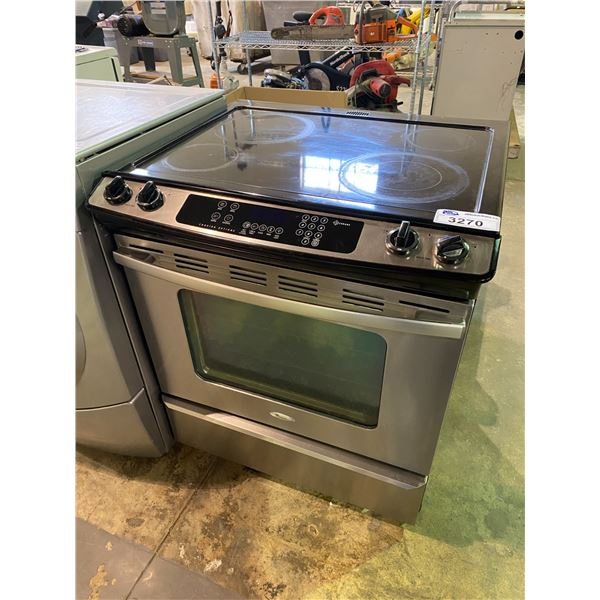 WHIRLPOOL INDUCTION STOVE WITH CONVENTIONAL OVEN