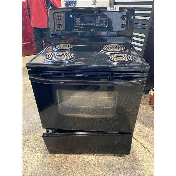 KENMORE COIL TOP STOVE WITH CONVECTION OVEN