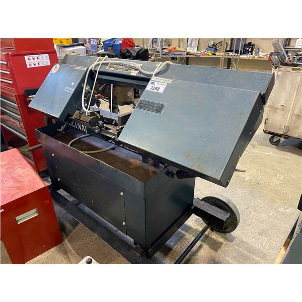 CAROLINA INDUSTRIAL METAL BAND SAW ON A ROLLING CART MODEL HV20