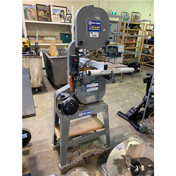 "KING CANADA 14"" WOOD CUTTING BANDSAW MODEL MCM-1401HD"