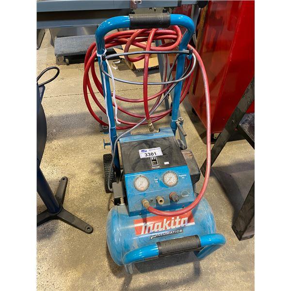 MAKITA 3HP 5.2GALLON AIR COMPRESSOR MODEL MAC5200