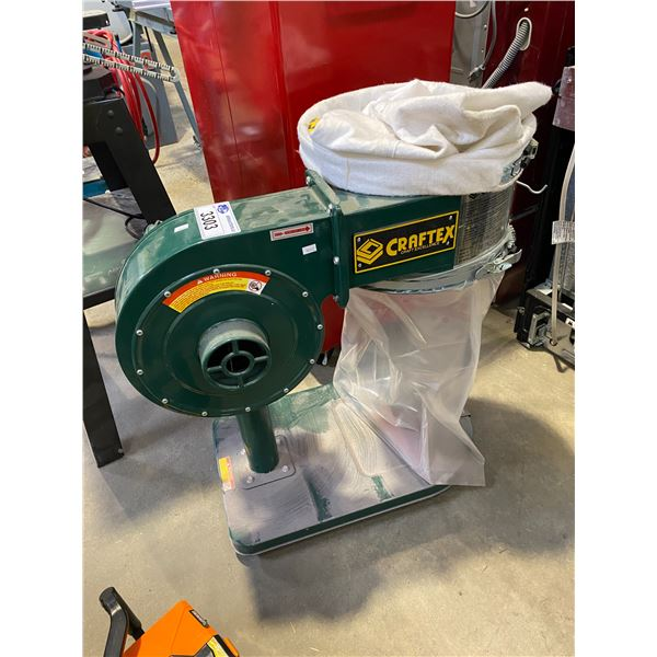 CRAFTEX 110V 1HP DUST COLLECTOR