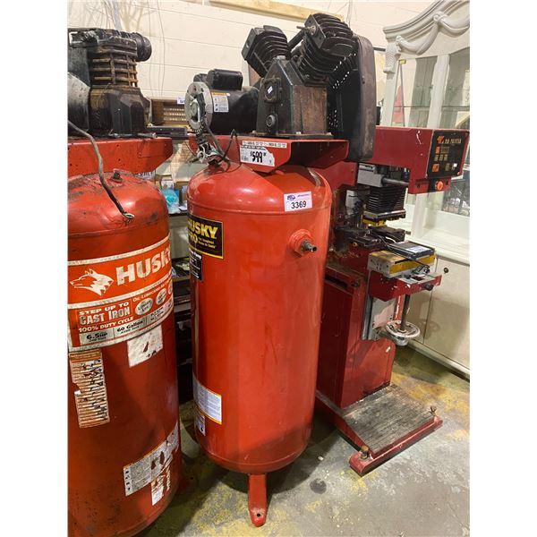 HUSKY PRO CAST IRON PUMP 60GALLON 3.2HP 135MAX PSI AIR COMPRESSOR