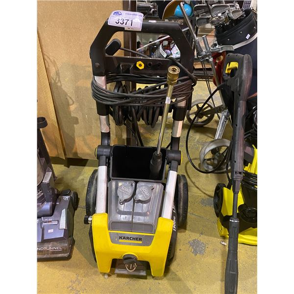 KARCHER 1900PSI PRESSURE WASHER MAY NEED REPAIRS &/OR MISSING PIECES