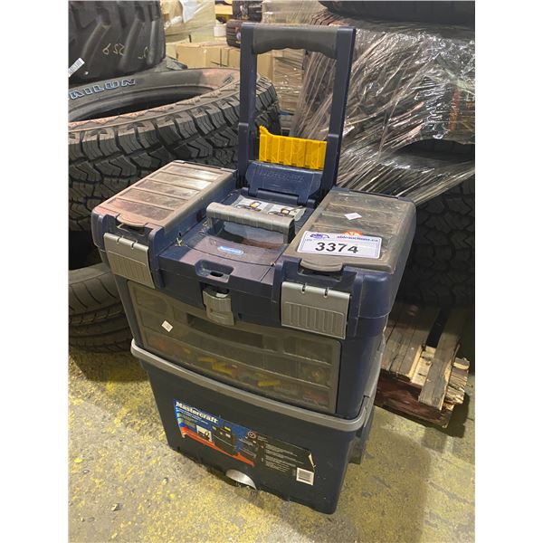 MASTERCRAFT ROLLING TOOL CHEST WITH CONTENTS