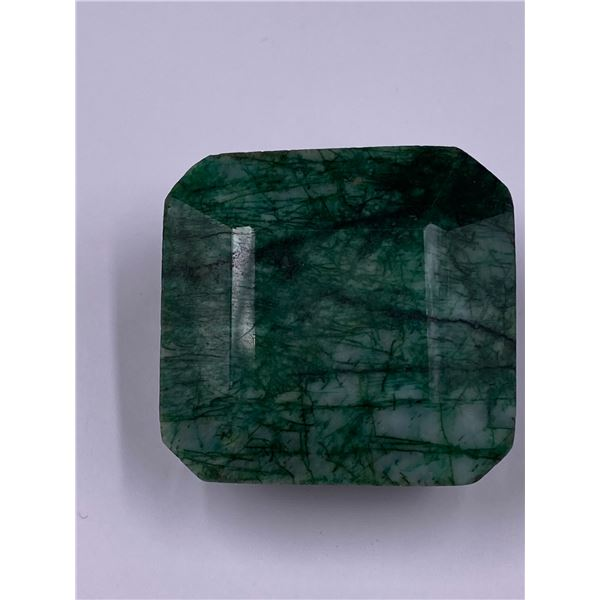ROUGH MINERAL POLISHED QUALITY EMERALD 258.55CT - 51.71G, 35 X 35 X 24MM, BRAZIL