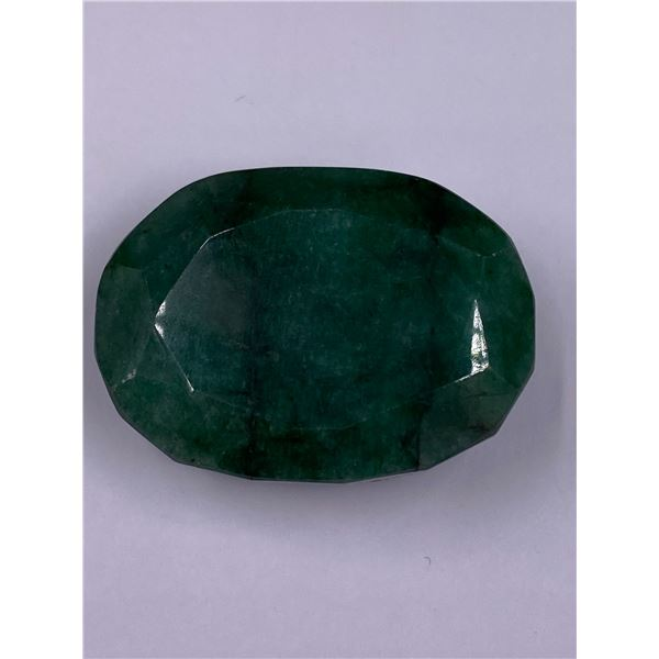 ROUGH MINERAL POLISHED QUALITY EMERALD 127.50CT - 25.50G, 36 X 26 X 16MM, BRAZIL