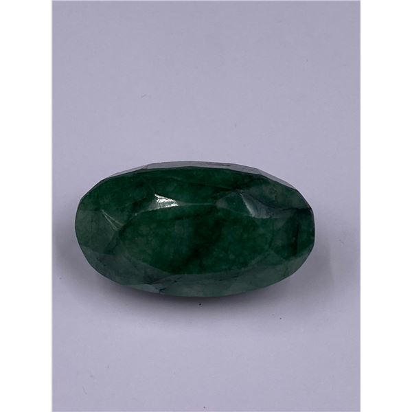 ROUGH MINERAL POLISHED QUALITY EMERALD 106.15CT - 21.23G, 37 X 21 X 18MM, BRAZIL