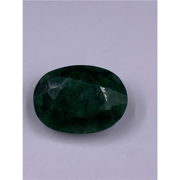 ROUGH MINERAL POLISHED QUALITY EMERALD 100.55CT - 20.11G, 35 X 26 X 17MM, BRAZIL