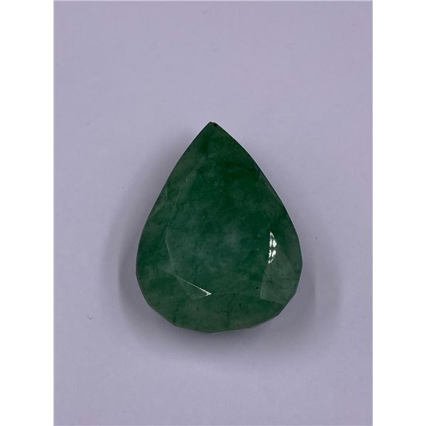 ROUGH MINERAL POLISHED QUALITY EMERALD 100.50CT - 20.10G, 37 X 27 X 13MM, BRAZIL