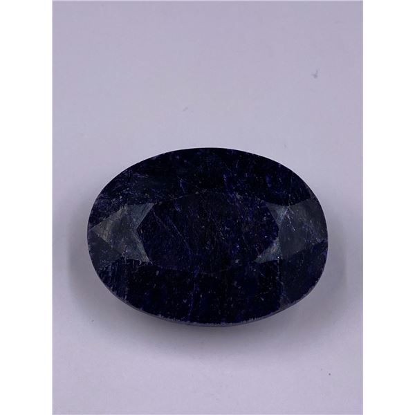 ROUGH MINERAL POLISHED QUALITY SAPPHIRE 152.70CT - 30.54G, 35 X 26 X 15MM, MADAGASCAR
