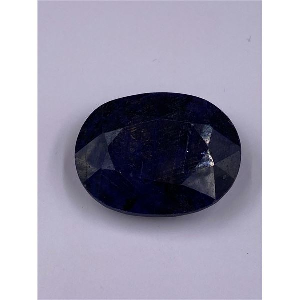 ROUGH MINERAL POLISHED QUALITY SAPPHIRE 136.40CT - 27.28G, 35 X 27 X 13MM, MADAGASCAR