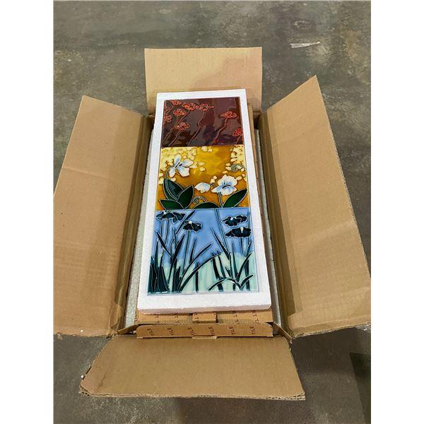 BOX OF FIRELOR HAND MADE WALL ART