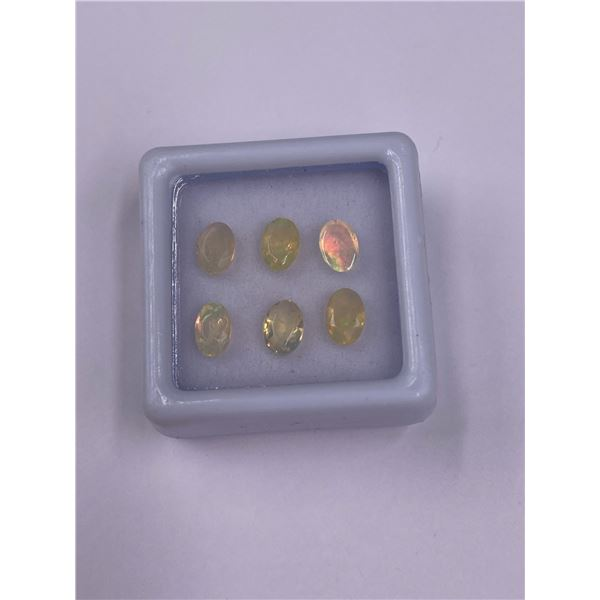 WELO OPAL 1.45CT, 7 X 5MM, OVAL CUT, PLAY OF COLOUR, ETHIOPIA, UNTREATED