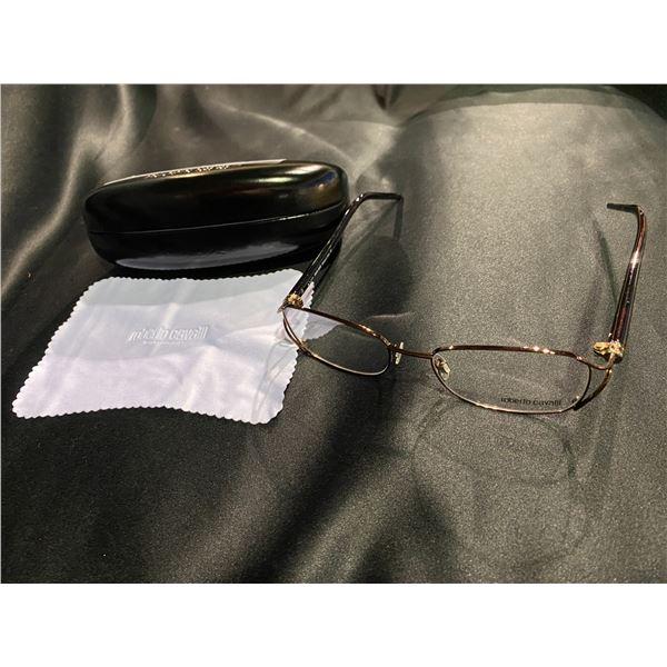 NEW WITH CASE ROBERT CAVALLI GLASSES