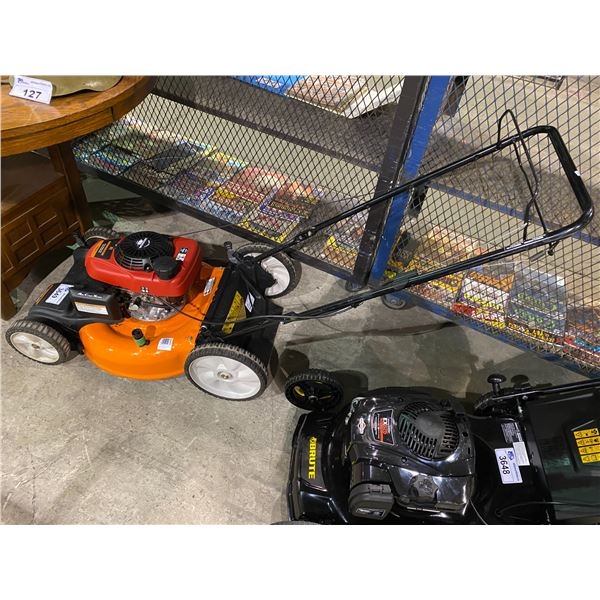 REMINGTON 160CC GAS POWERED LAWN MOWER (MAY NEED REPAIR & OR MISSING PIECES)