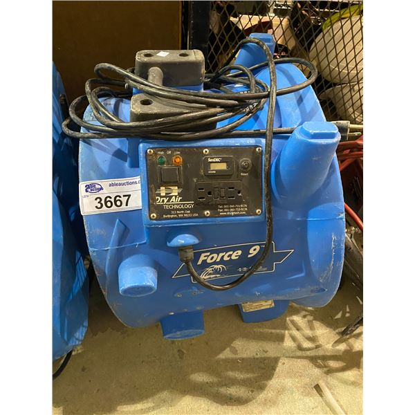 DRY AIR TECHNOLOGY FORCE 9 AIR MOVER