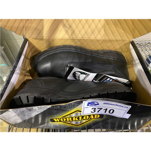 NEW IN BOX WORKLOAD SIZE 12 STEEL TOE SHOES
