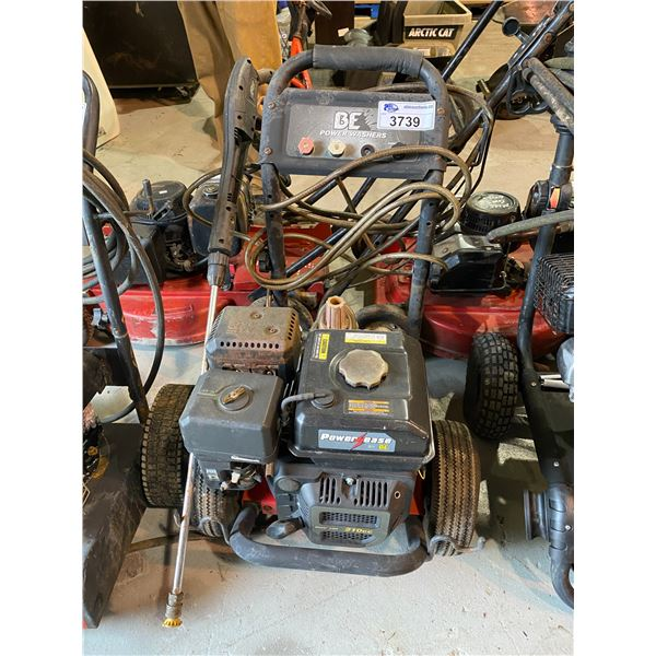 BE POWER EASE PRESSURE WASHER MAY NEED REPAIRS &/OR MISSING PIECES