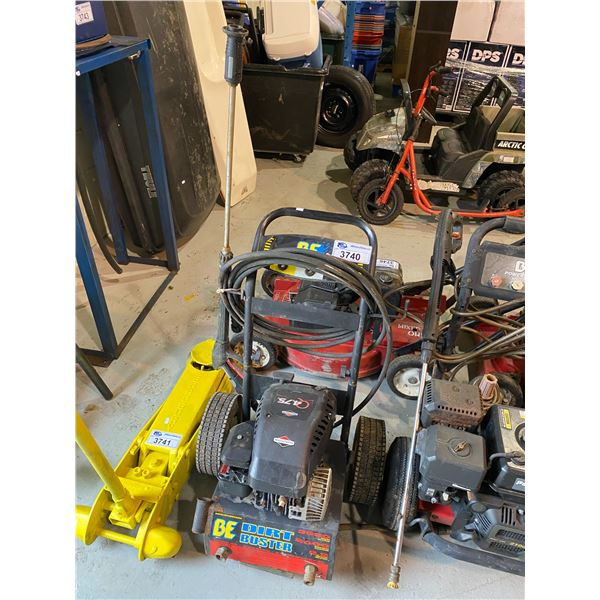 BE DIRT BUSTER POWER WASHER MAY NEED REPAIRS &/OR MISSING PIECES
