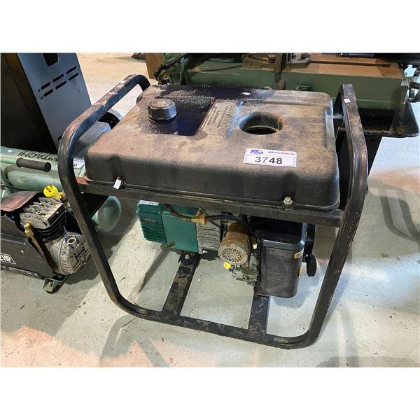 COLEMAN POWERMATE 5000 ELECTRIC GENERATOR MAY NEED REPAIRS