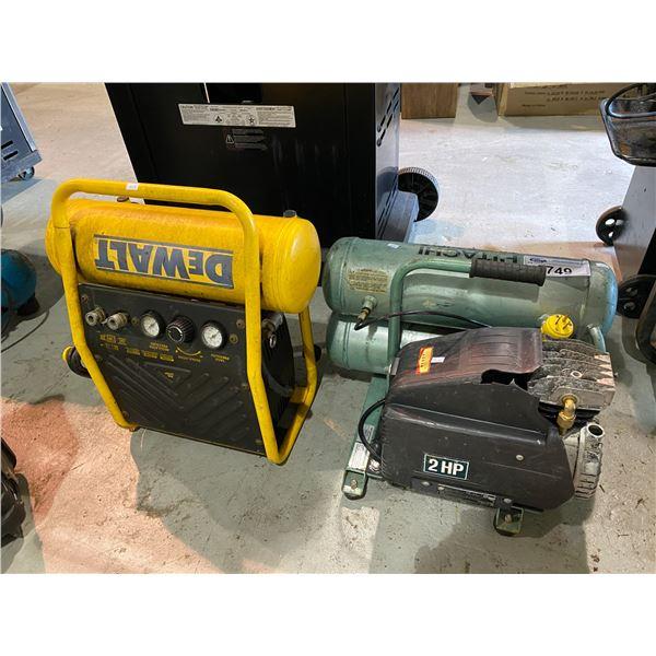 HITATCHI & DEWALT AIR COMPRESSORS MAY NEED REPAIRS