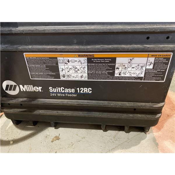 MILLER SUITCASE 12C WELDER MAY NEED REPAIRS