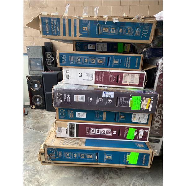 ASSORTED TVS FOR REPAIR