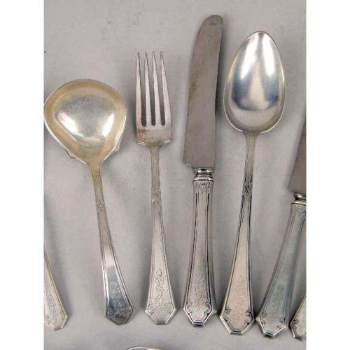 Sterling Silver Flatware Towle Lady Mary Salad Fork