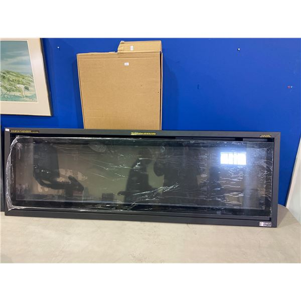 """IN BOX KENNEDY ELECTRIC WALL MOUNTED FIREPLACE 55"""""""