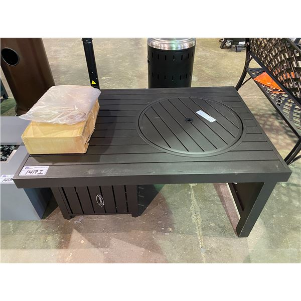 """IN BOX PARAMOUNT OFFSET OUTDOOR FIREPIT TABLE 29 X 41.75"""""""