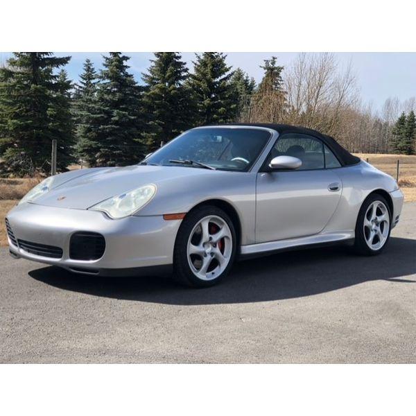2004 PORSCHE 911 4S CABRIOLET AWD