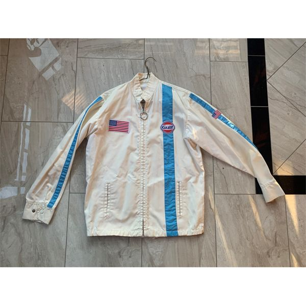 NO RESERVE! 1950S AND 1960S VINTAGE ORIGINAL GULF RACING JACKET