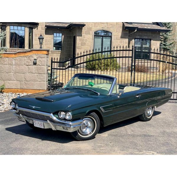 1965 FORD THUNDERBIRD RETRACTABLE 390 Z CODE CONVERTIBLE 71000 MILES