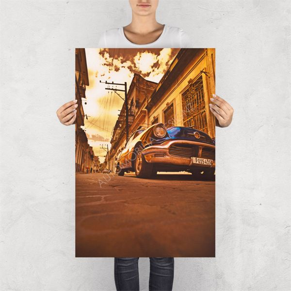 """NO RESERVE LIMITED EDITION PRINT """"CRUISING IN THE BUICK"""""""