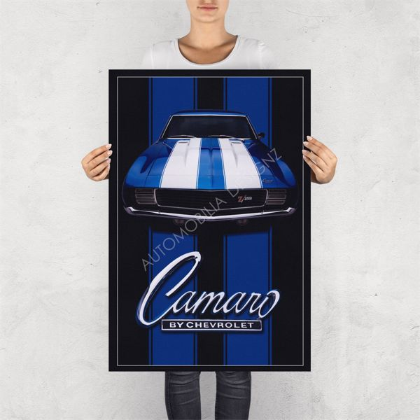 """NO RESERVE LIMITED EDITION PRINT """"CAMARO BY CHEVROLET"""""""