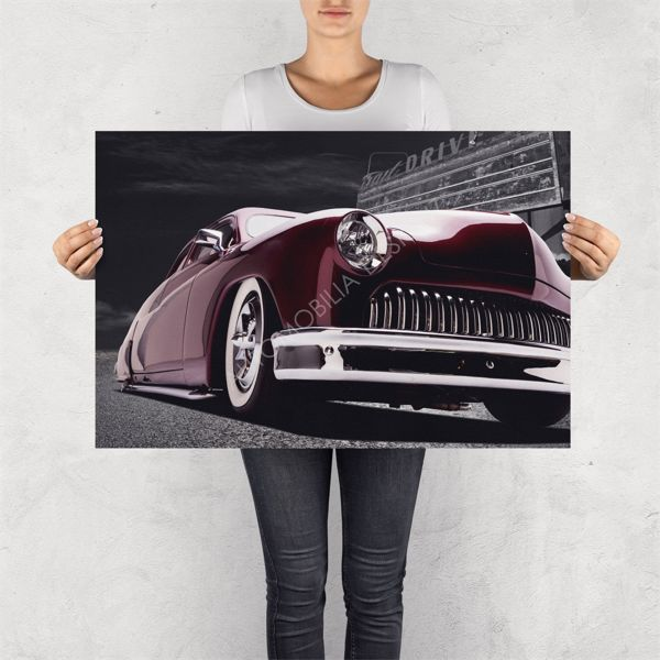 """NO RESERVE LIMITED EDITION PRINT """"LEAD SLED MERCURY"""""""