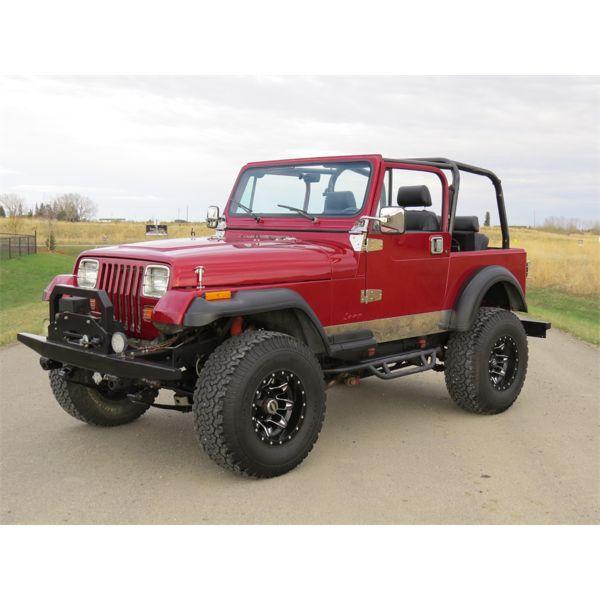 RESERVE MET AND SELLING! 1993 Jeep Wrangler YJ 4X4 Custom