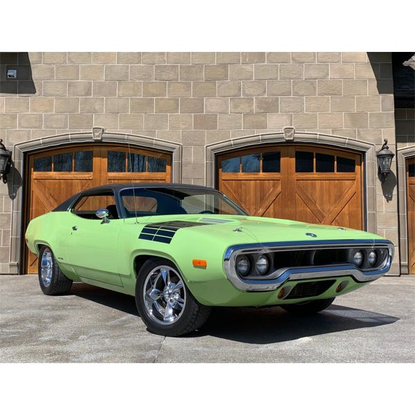 RESERVE LIFTED AND SELLING! 1972 Plymouth Road Runner