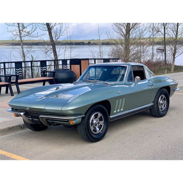 RESERVE LIFTED AND SELLING! 1966 CHEVROLET CORVETTE STINGRAY 327