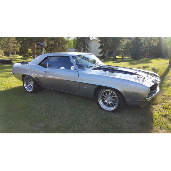 """1969 CHEVROLET CAMARO SS """"AVALANCHE"""" ONLY 4000MILES"""