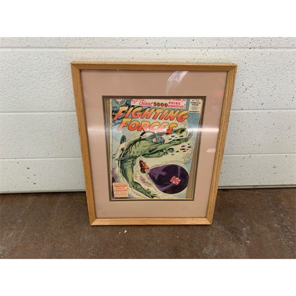 NO RESERVE! Fighting forces vintage comic