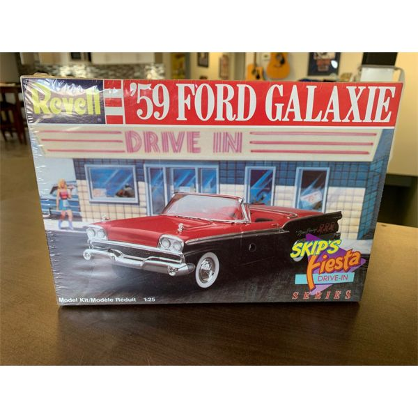 NO RESERVE! 1959 Ford galaxy revel series model new in the box with original wrapping