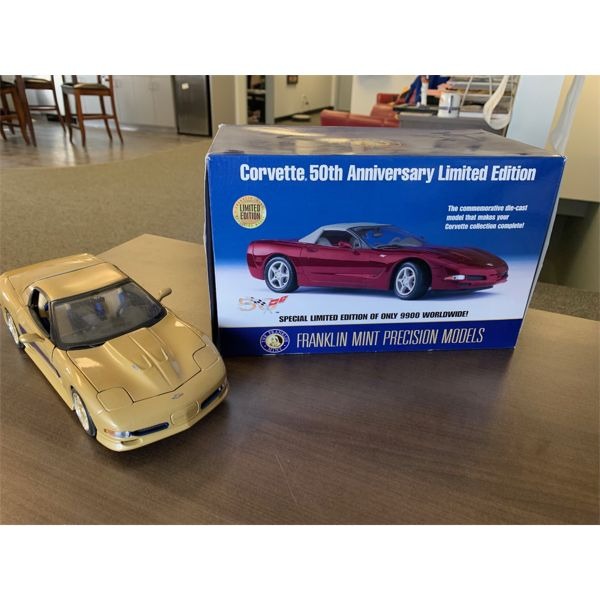 Corvette 50th anniversary Limited addition diecast only 9900 made