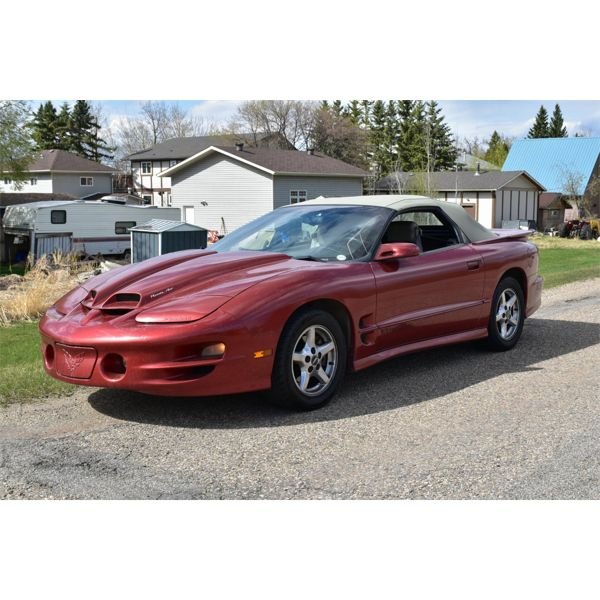 RESERVE LIFTED AND SELLING! 1998 PONTIAC FIREBIRD CONVERTIBLE