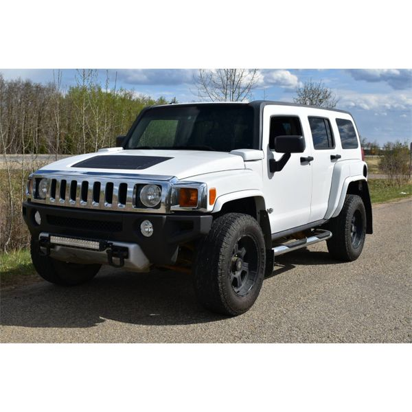 RESERVE LIFTED AND SELLING! 2008 HUMMER H3 LUXURY