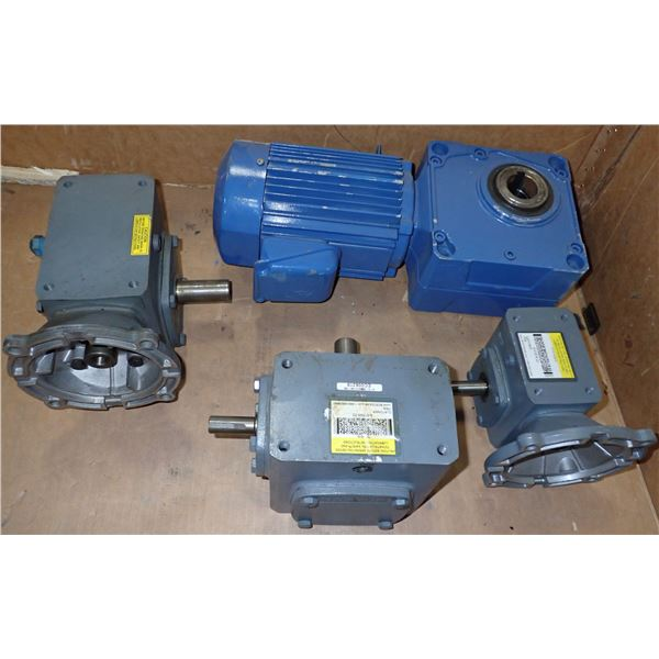 Lot of Boston Gear Reducers +