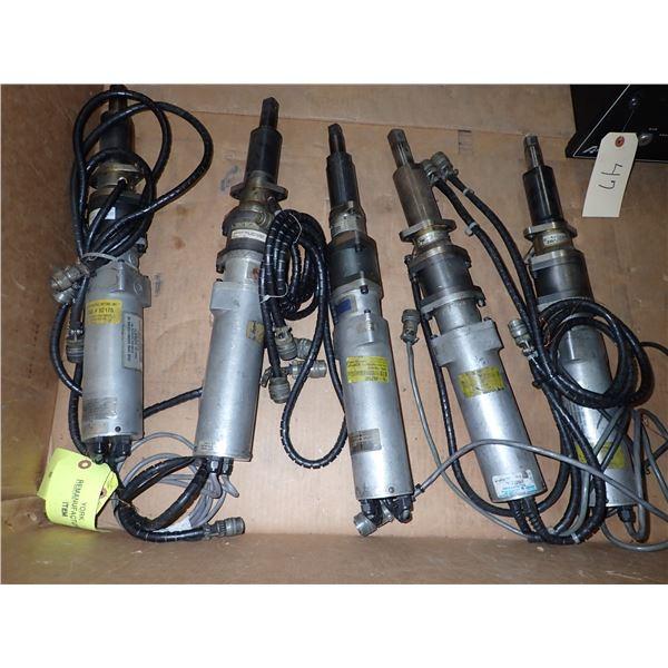 Lot of (5) Atlas Copco Units
